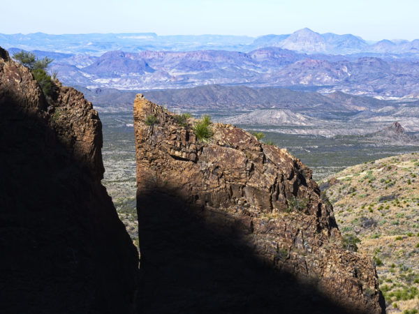 Big Bend Chisos Basin Texas Desert Window View