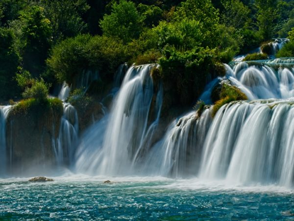 Skradinski Buk Waterfall in Croatia