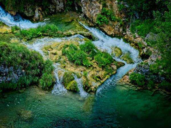 Plitvice Croatia Waterfall Pool Landscape Photography