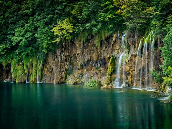 Plitvice Lake Croatia Waterfall Landscape Photography for Sale